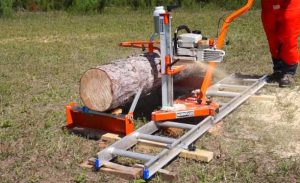 How To Cut Logs Into Lumber With A Chainsaw mill