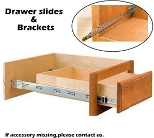 5. Gobrico 10 Pairs Drawer Slides