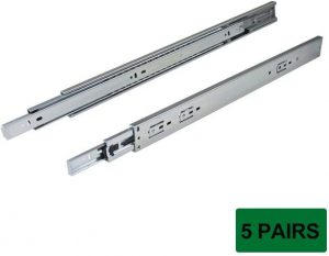 6. Probrico Side Mount Drawer Slides