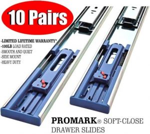Promark 20 Inch 100 LB Capacity Full Extension Soft