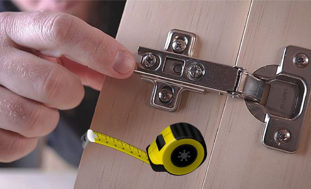 How to Measure Cabinet Hinges