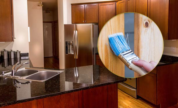 How To Stain Kitchen Cabinets Without, Sanding And Staining Kitchen Cabinets